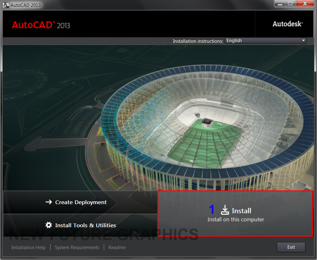 download AutoCad 2013