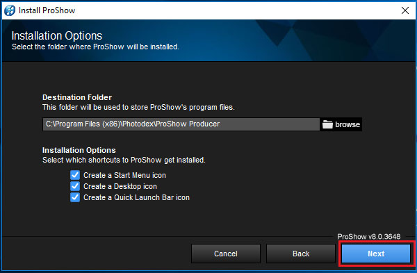 download Proshow Producer 8 full Crack