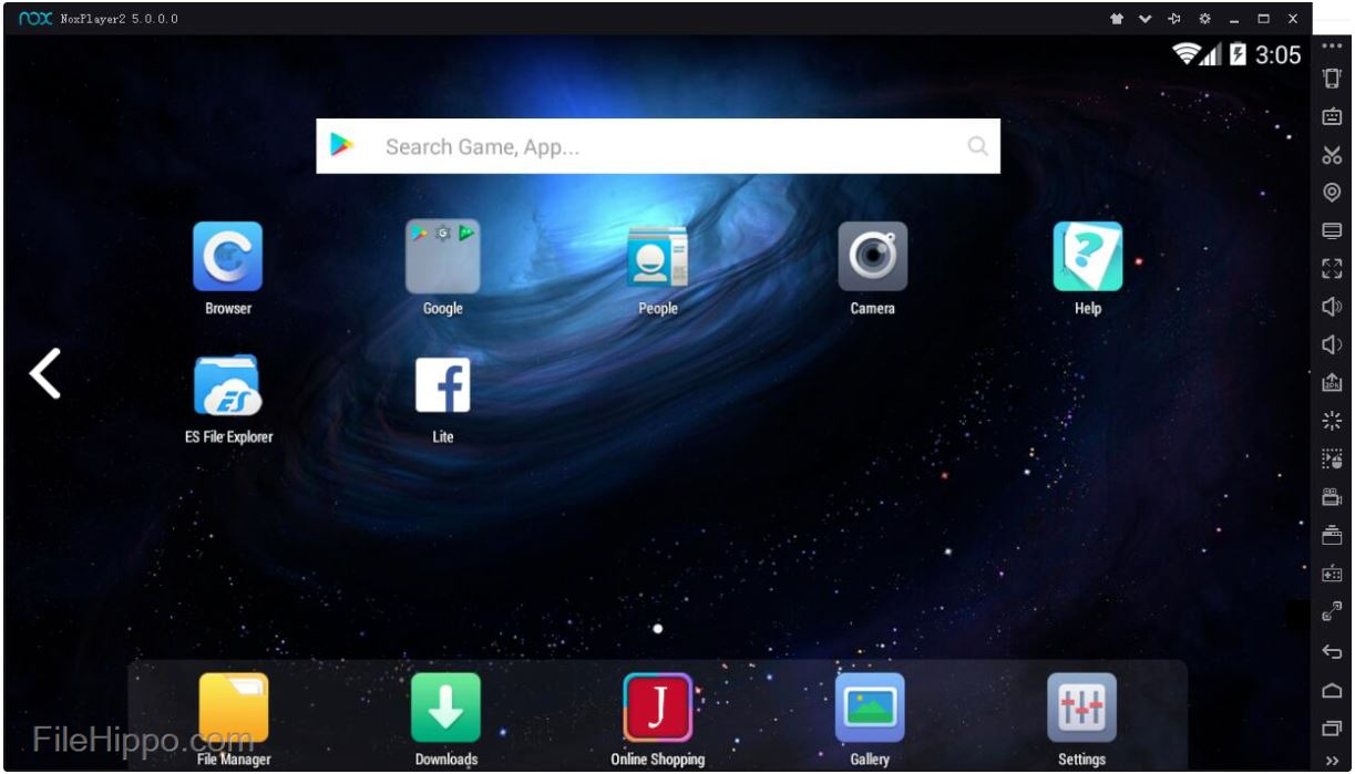 Download Nox Player 5.0