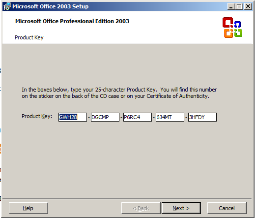Download Office 2003