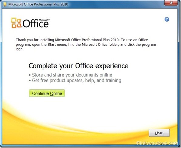 download Microsoft Office 2010