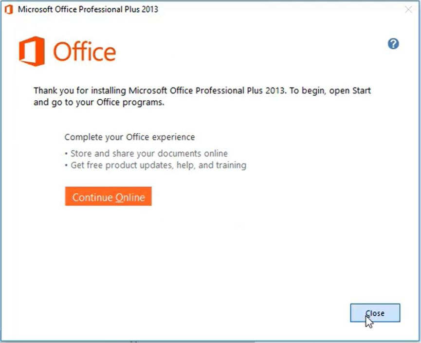 Active Office 2013