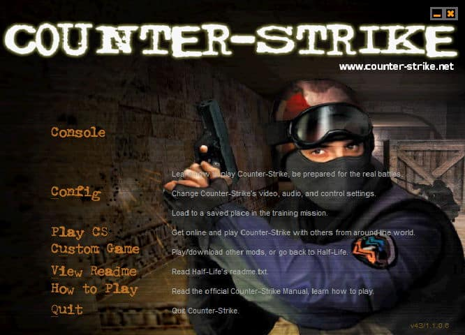 Download Half Life 1.1- Counter Strike Full key bản chuẩn