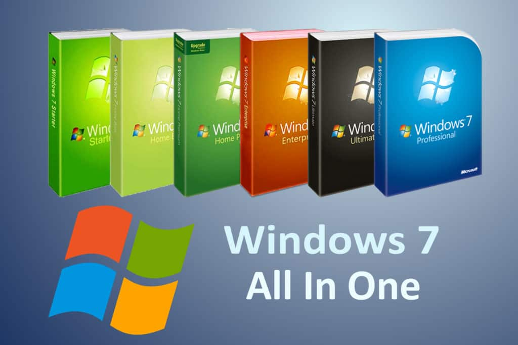 Download Window 7 AIO All In One 32 bit, 64 bit miễn phí